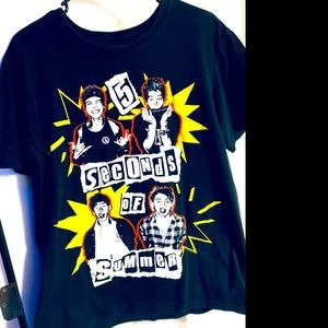 5 SECONDS OF SUMMER BAND TEE